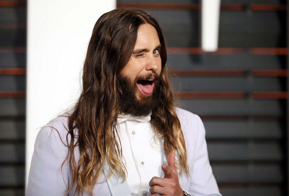 There aren't even any cool celebrity vegetarians. Would you do something just 'cause Jared Leto did it?