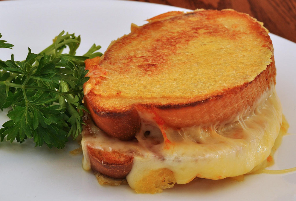 Grilled cheese? It can be all right, maybe.