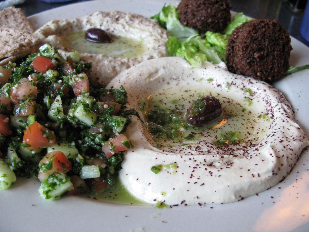 No-one really likes falafel and hummus.