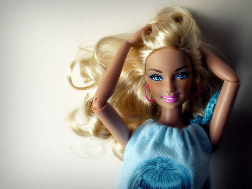 """""""It's all because you had Barbies as a child"""""""