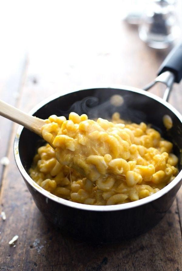 Healthy Butternut Squash Mac 'N' Cheese