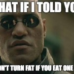 To my friend who won't eat any sugar due to his strict workout regiment